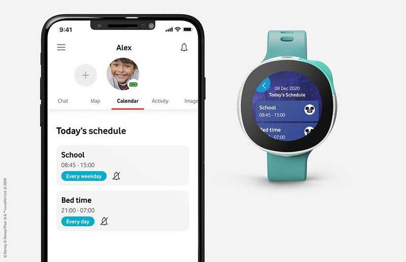 Smartwatch Vodafone Disney3 - Vodafone presenta 'Neo', el smartwatch para niños con los personajes de Disney, Marvel y Star Wars