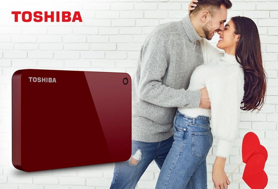 Toshiba2 - Día de San Valentín: el amor dura para siempre... en un disco duro de Toshiba
