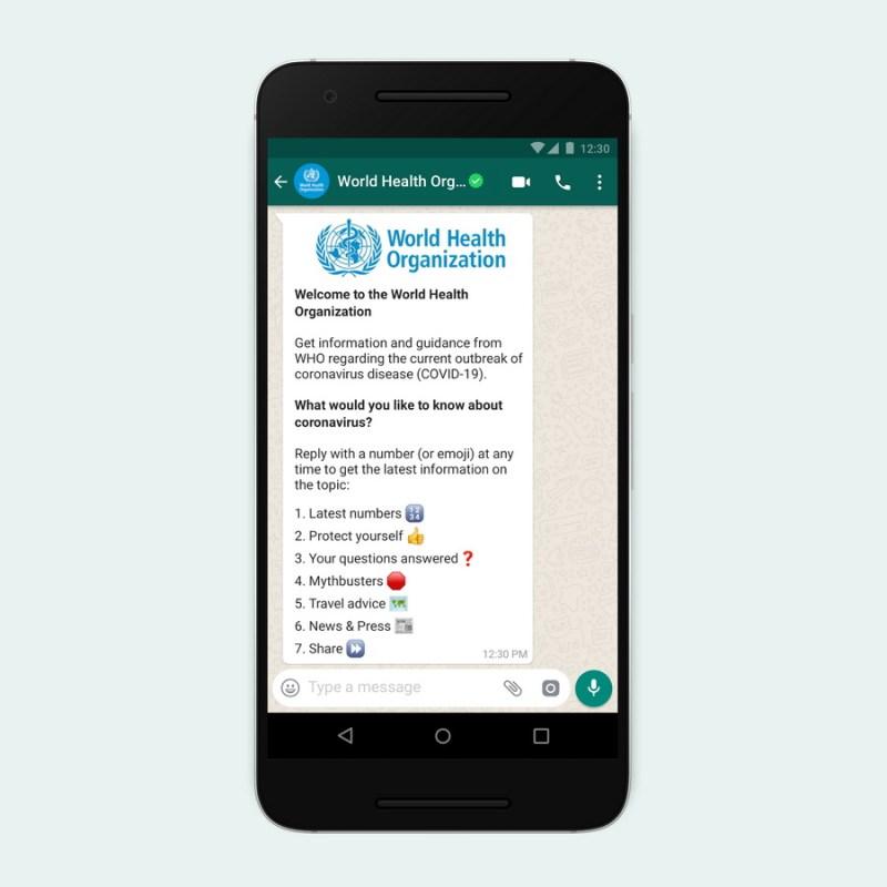 WhatsApp OMS Coronavirus - WhatsApp: la Organización Mundial de la Salud crea Alerta Sanitaria de la OMS en esta red social