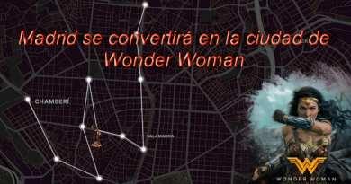 Madrid se convertirá en la ciudad de Wonder Woman