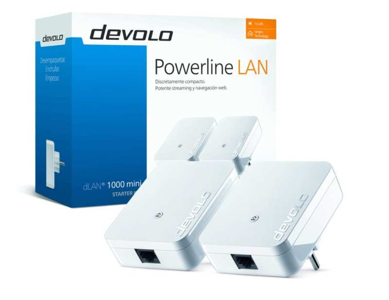 Extiende el alcance de tu WiFi con el nuevo devolo dLAN 1000 mini