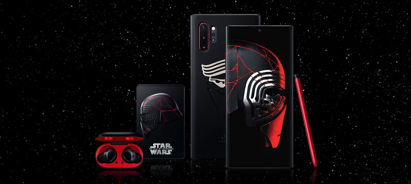 galaxy note10 star wars edition5 - Samsung presenta Galaxy Note10+ Star Wars Special Edition: El Note10 de una galaxia muy, muy lejana