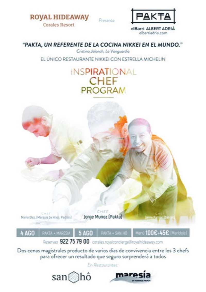 photostudio 15330298006391198971429456746977 - Inspirational Chef Program: Chefs con estrella Michelin se citan en Tenerife