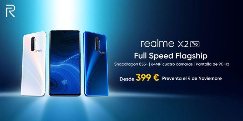 realme X2 Pro disponible para pre-compra