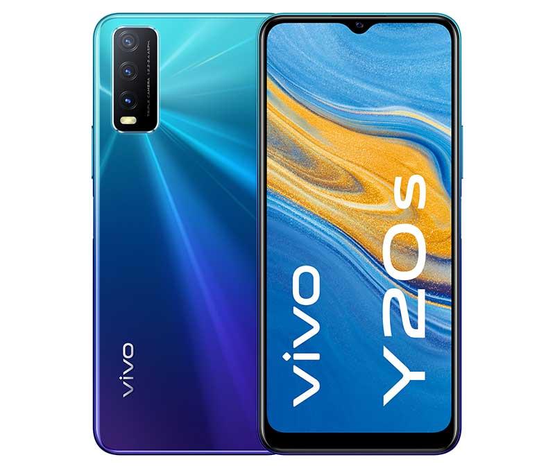 vivo Y20s Nebula Blue - vivo desembarca en Europa: smartphones, auriculares y mucho más a un precio sorprendente