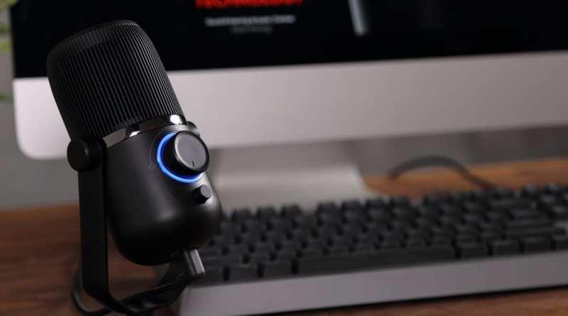 Micrófono USB Woxter