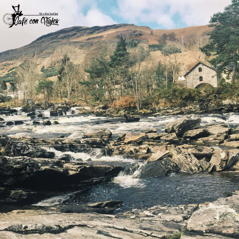 Falls of Dochart en Killin
