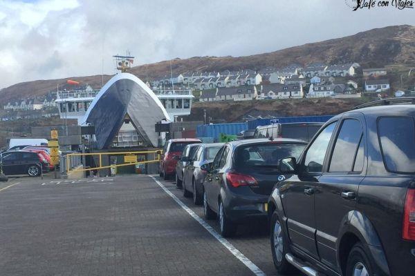 Llegar a la Isla de Skye en ferry si vas en coche