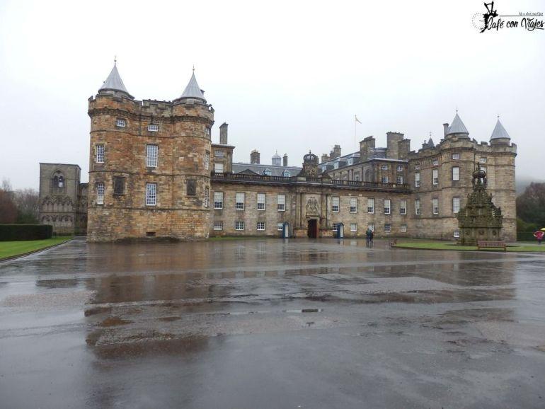 Castillo y Abadía de Holyrood