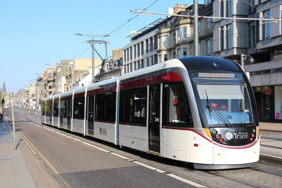 TRAMS de Edimburgo