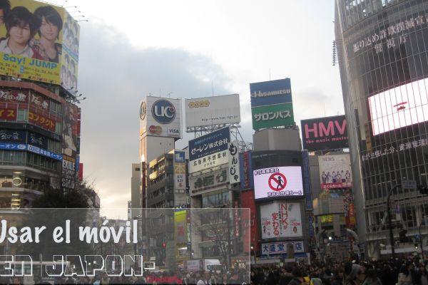 Que hay que tener en cuenta para usar tu móvil al viajar a Japón