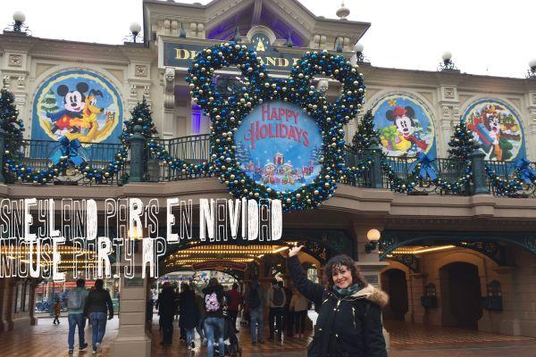 Disneyland París en Navidad + Mouse Party AP