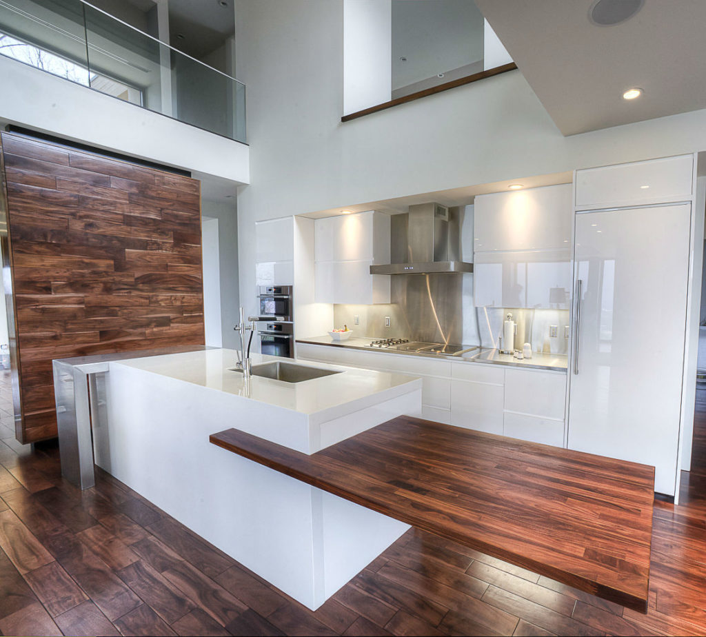 Installed Products Gallery - CafeCountertops™   Solid Wood ... on Modern Kitchen Counter  id=90316