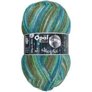 Opal mit Silbereffekt - 9673