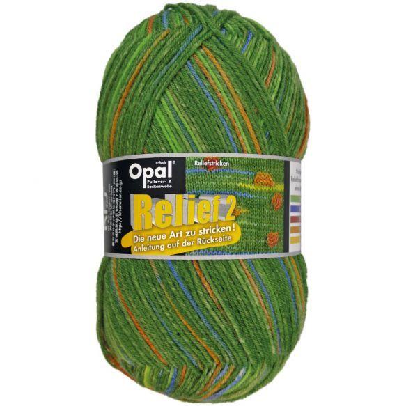 Opal Relief 2 - Groen