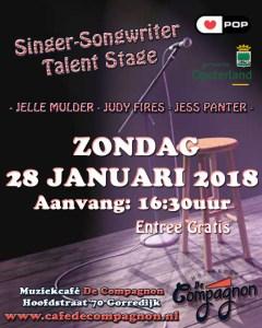 Singer-songwriter Talentstag