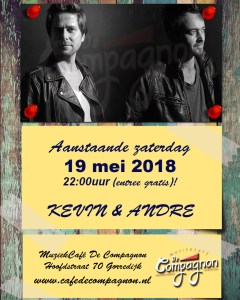 Kevin & Andre @ Café De Compagnon