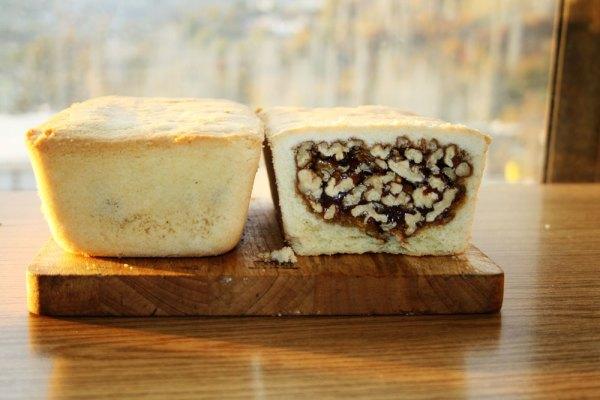 Hunza Walnut Cake