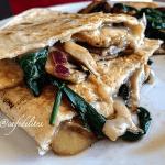 Italian Vegetable & Mozzarella Toasted Wrap