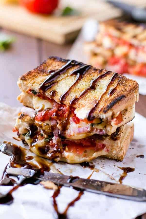 Caprese Grilled Cheese - Cafe Delites-47