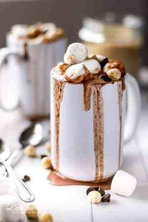 Nutella Hot Chocolate   https://cafedelites.com