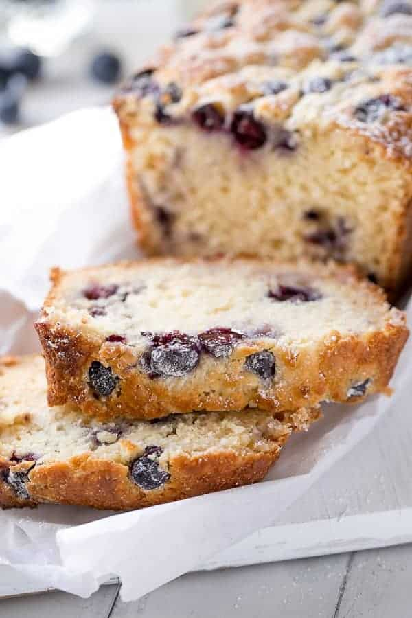 Blueberry Coconut Muffin Cake | http://cafedelites.com
