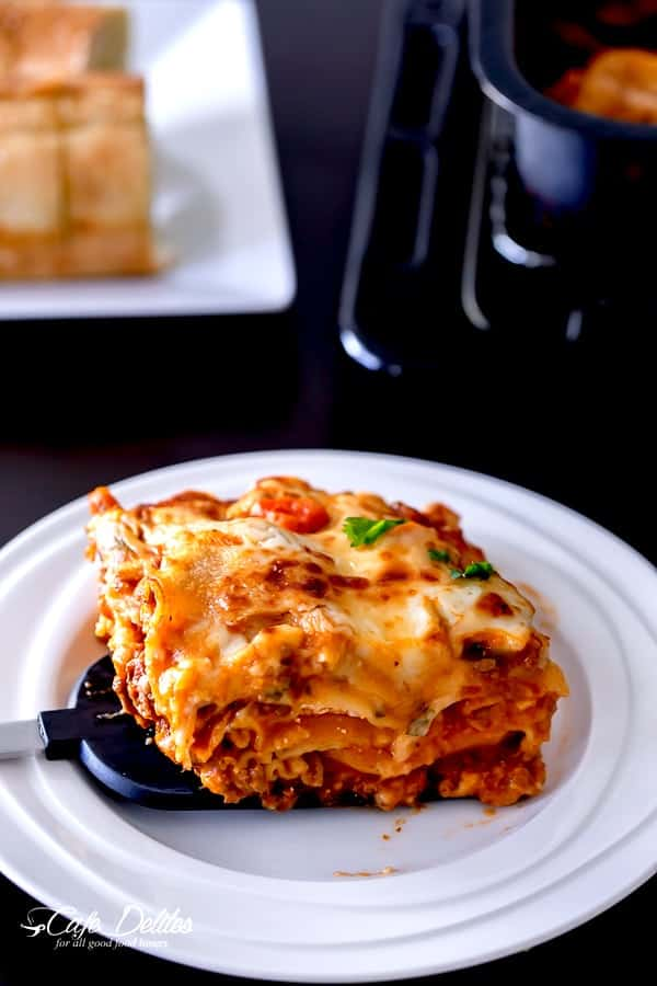 Beef And Pumpkin Lasagna-15