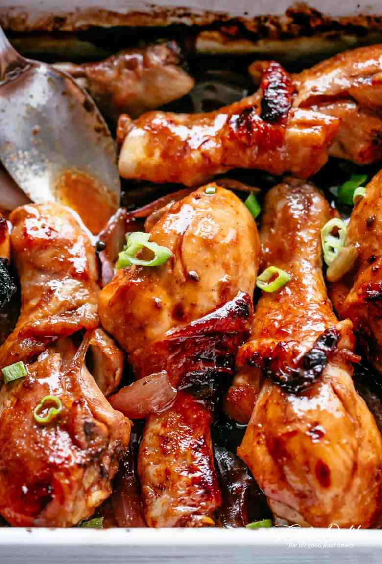 3 Ingredient Barbecue Soy Chicken Drumsticks