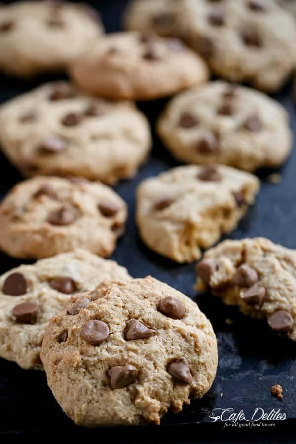 Nutella Cheesecake Chocolate Chip Cookie Parfait | https://cafedelites.com