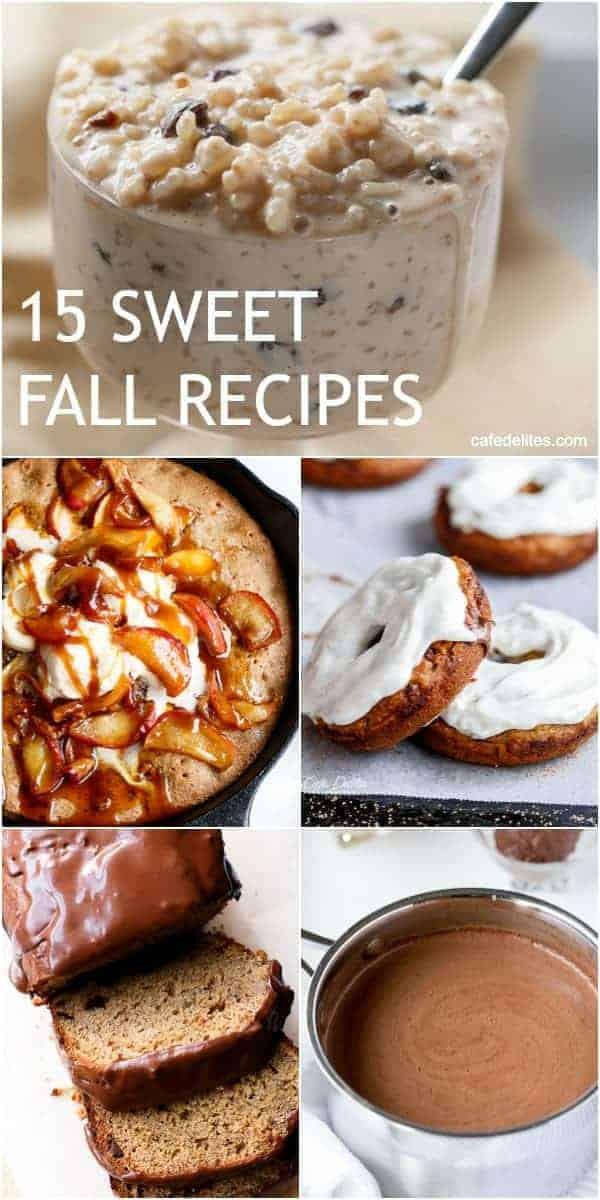 15 Sweet Fall Recipes