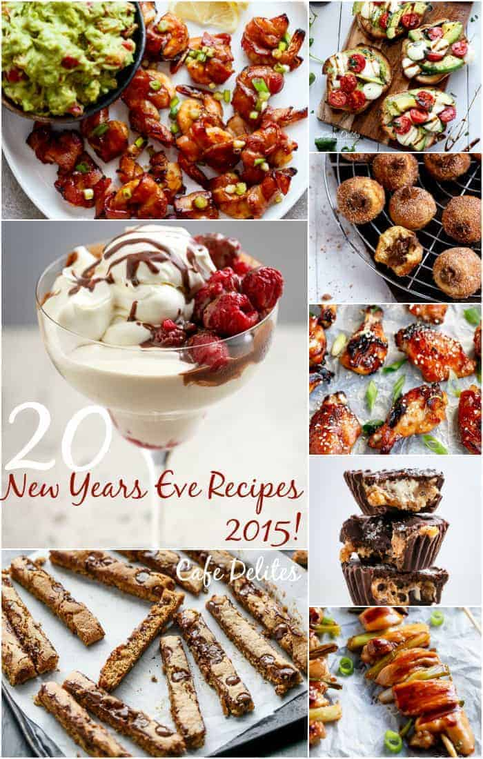 20 Recipes for New Years Eve 2015! on cafedelites.com