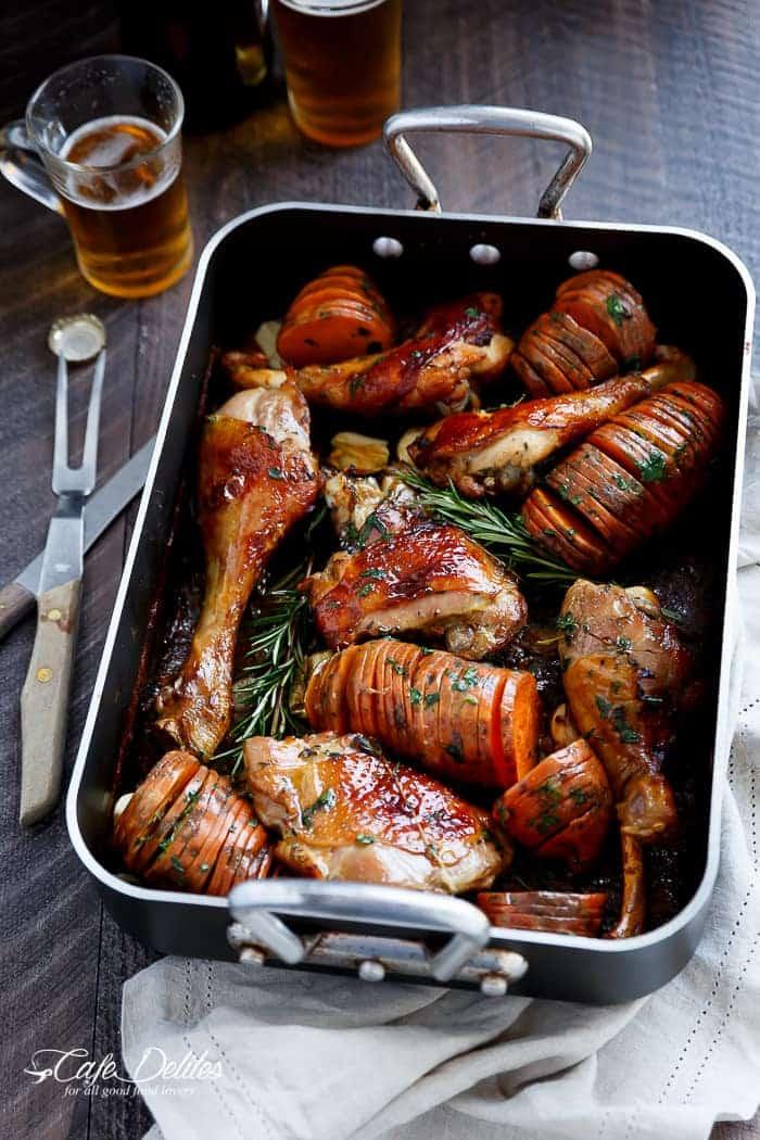 Crispy Beer Roast Turkey
