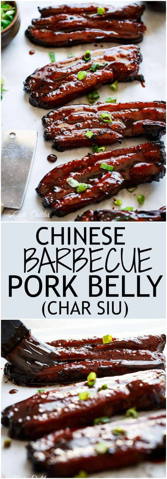 Sticky chinese belly pork recipe