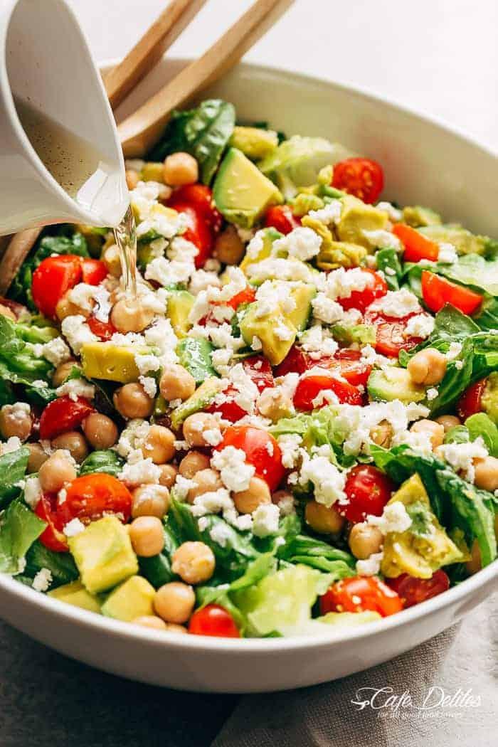 Balsamic Chickpea Salad-5
