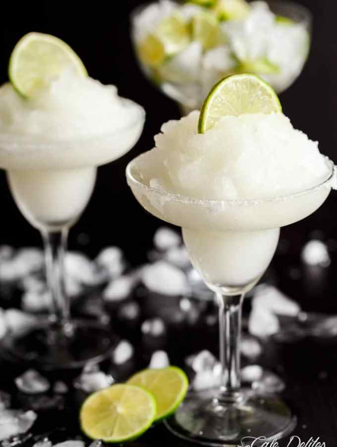 Frozen Margarita Slushy