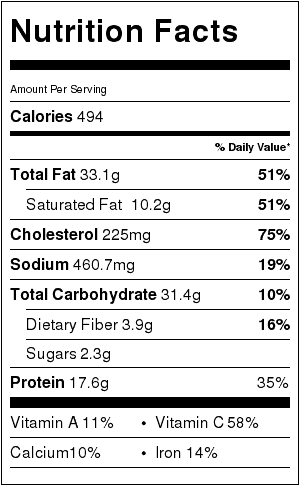 cheesy-bacon-and-egg-hash-nutrition-label