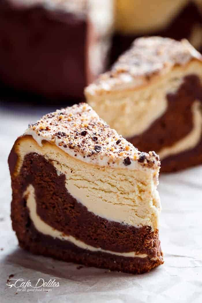 Chocolate Peanut Butter Cheesecake Cake
