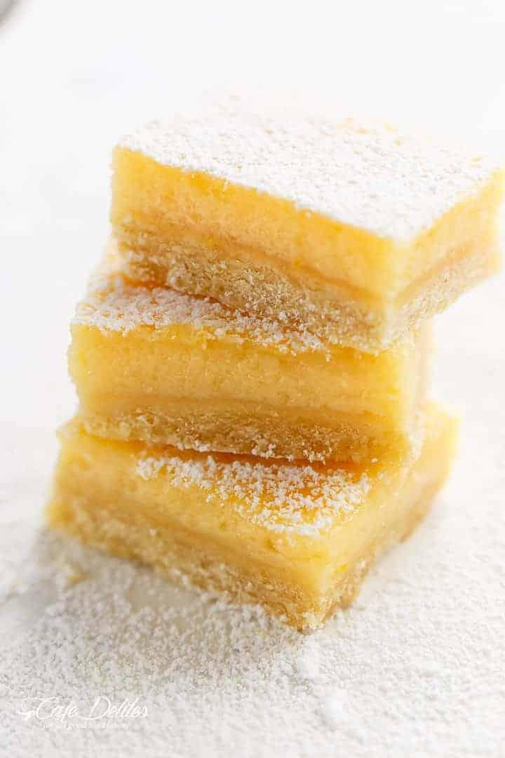101 Calorie Lemon Bars