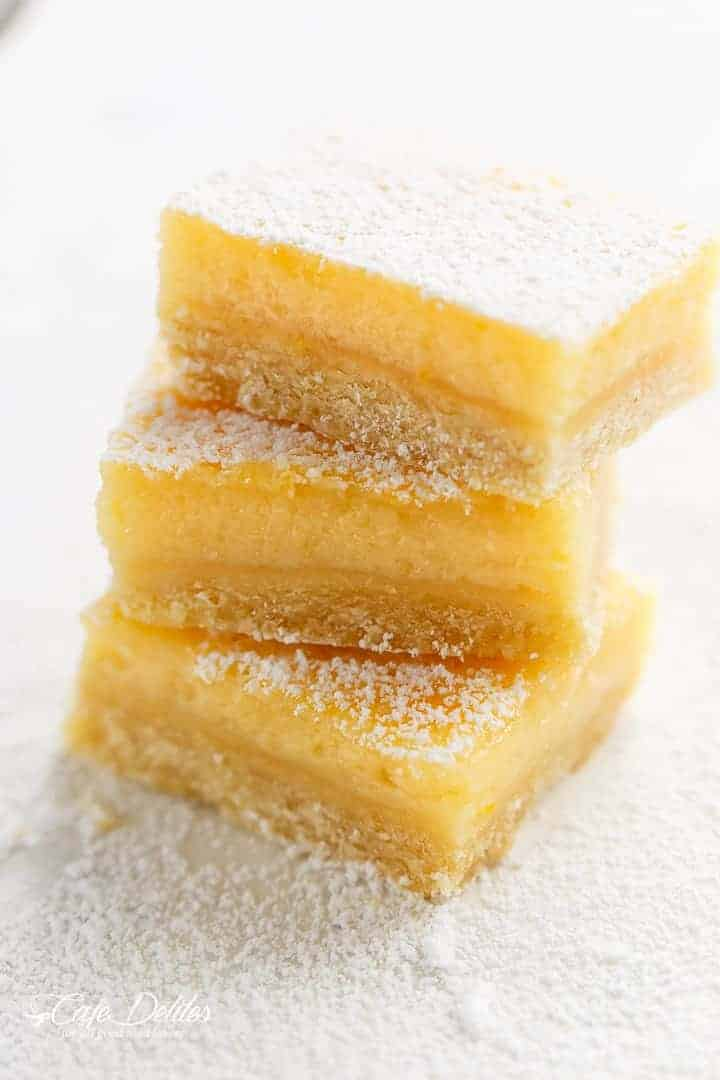 101 Calorie Lemon Bars