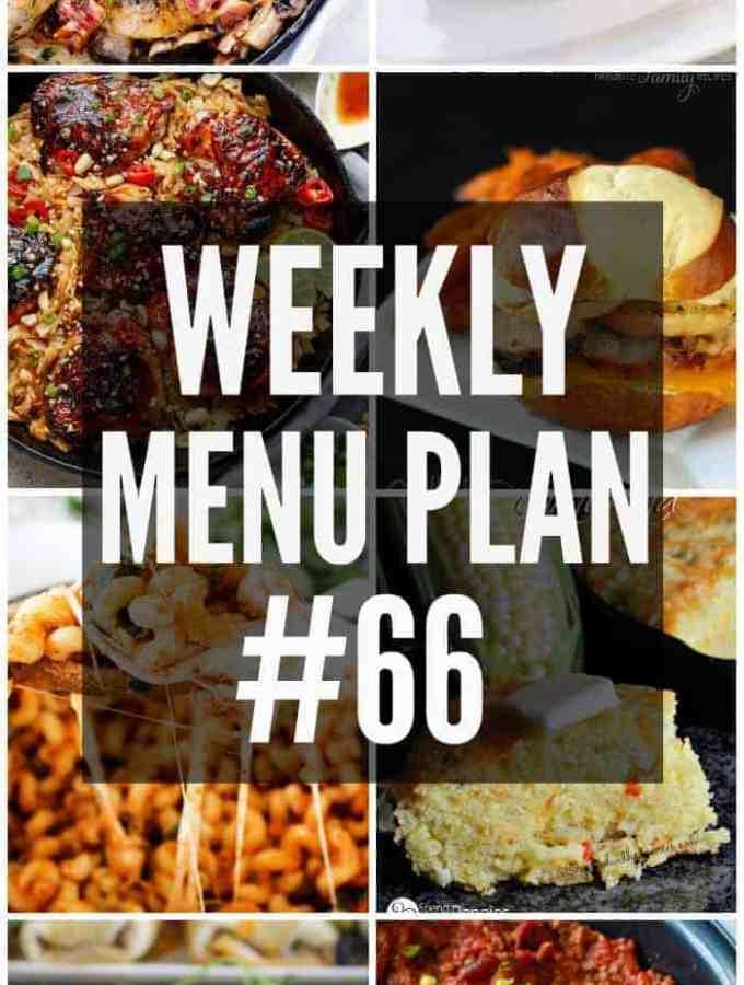 Weekly Menu Plan #66