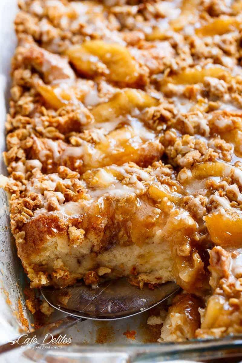Apple Pie French Toast Bake (Casserole)
