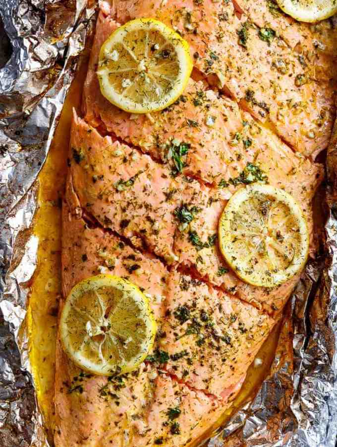 Lemon Butter Garlic Salmon