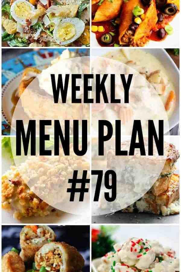 Weekly Menu Plan #79