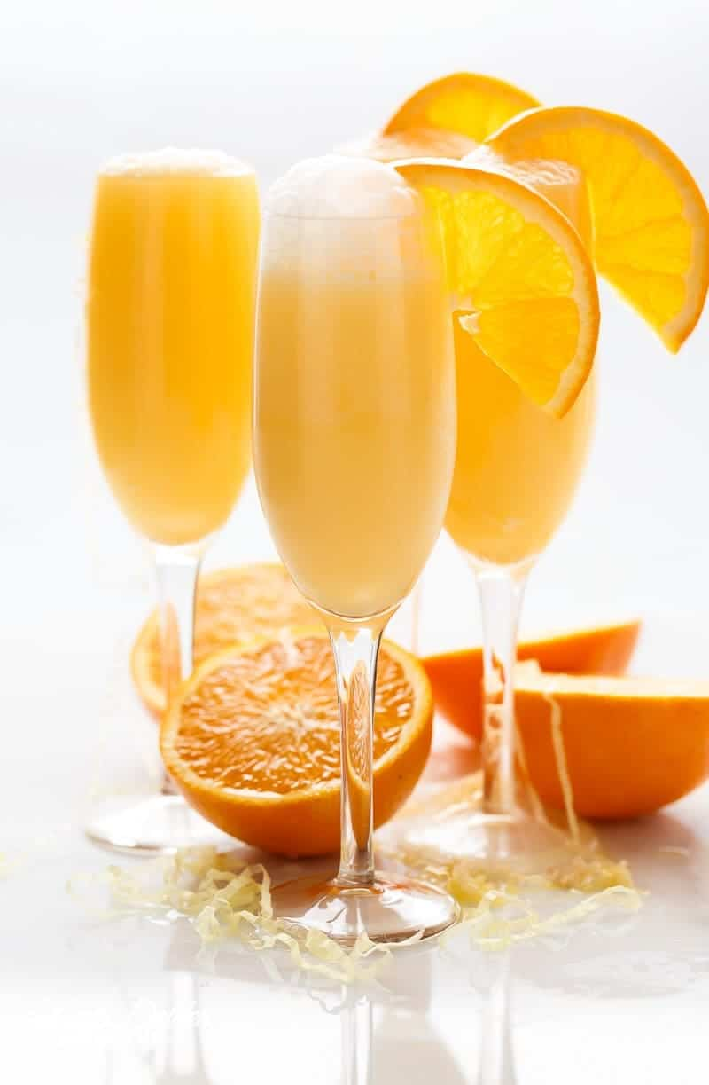 Orange creamsicle mimosas cafe delites for How many mimosas per bottle of champagne