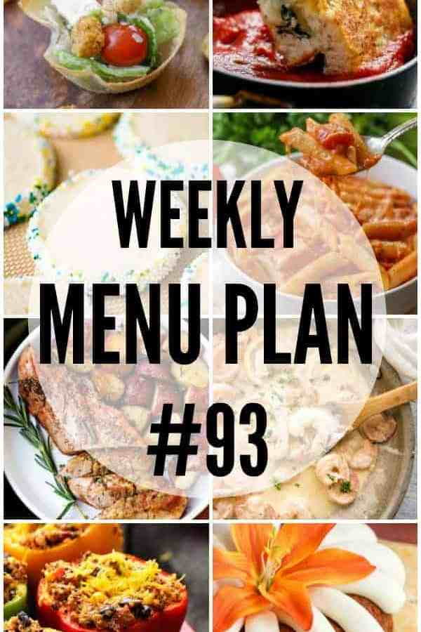 Weekly Menu Plan to #93