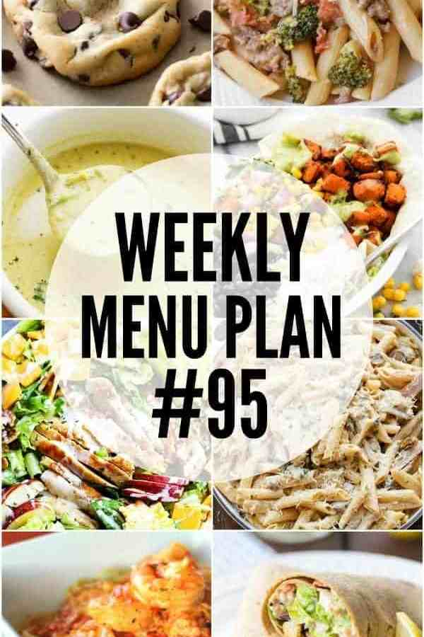Weekly Menu Plan #95