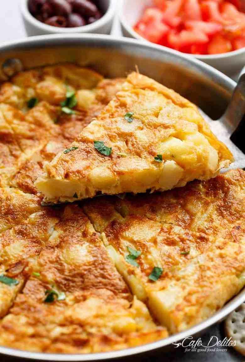 Spanish Omelette (Spanish Tortilla)