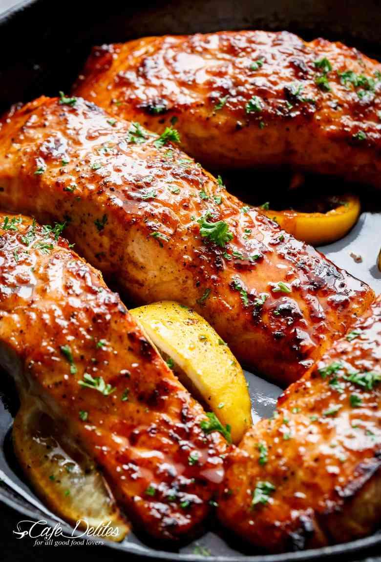 Easy Honey Garlic Salmon