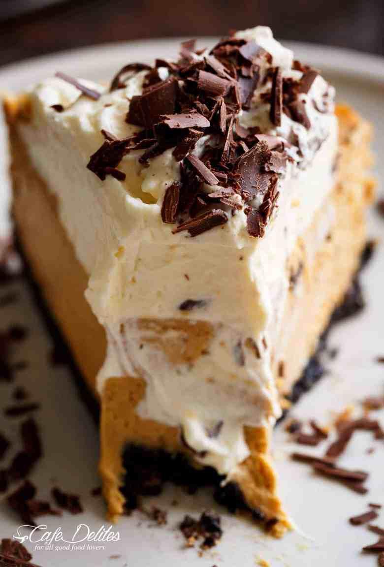 Chocolate Pumpkin Cheesecake (Optional Bourbon Whipped Cream)