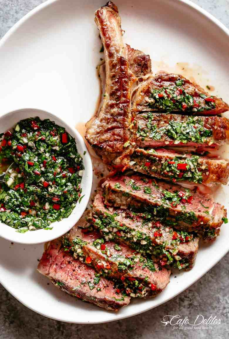 Steaks with Chimichurri (Churrasco)